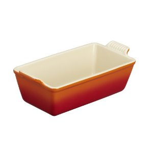 Le Creuset Heritage Loaf Pan Flame