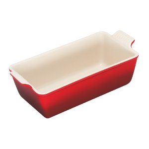Le Creuset Heritage Loaf Pan Cherry
