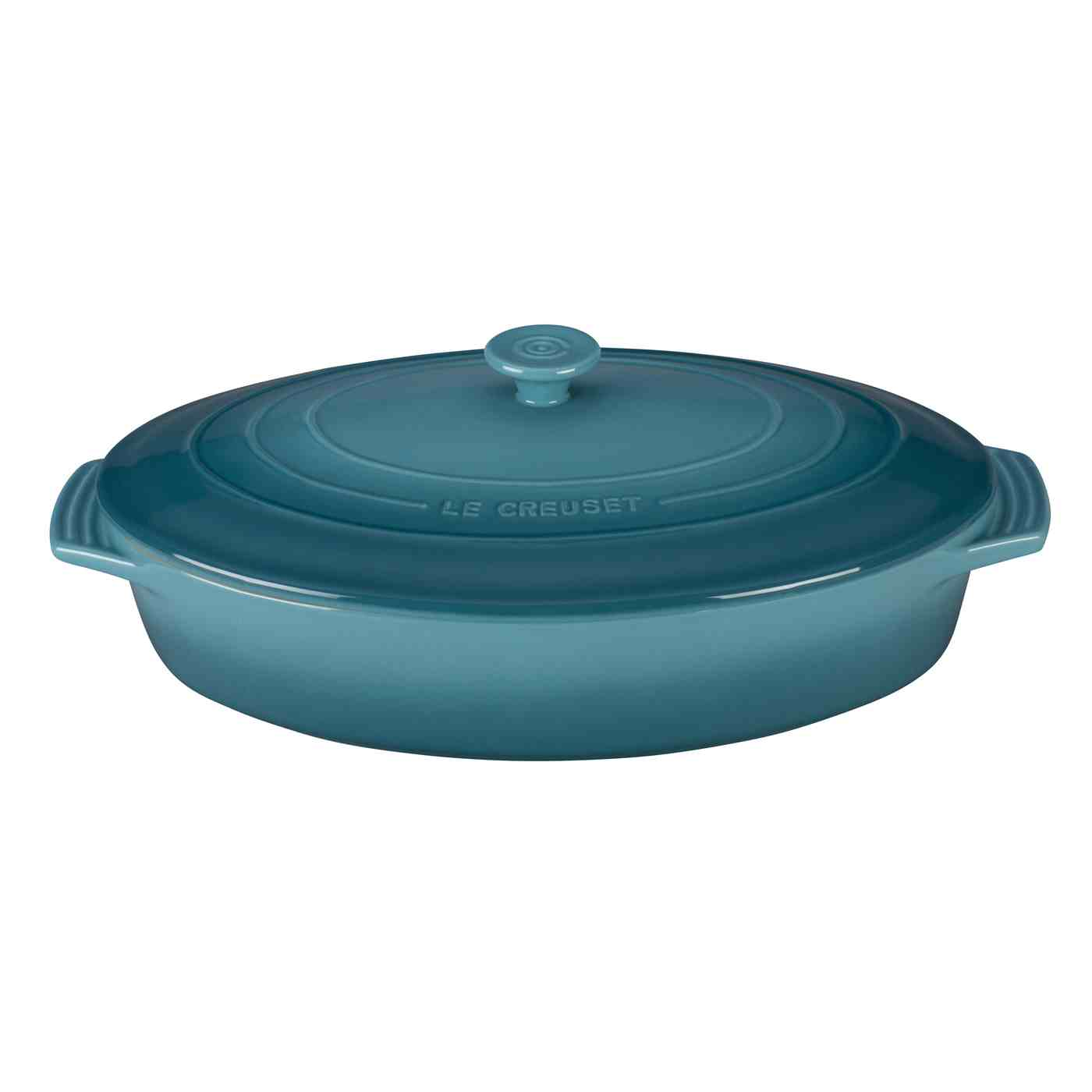 Le Creuset Oval Casserole with Lid 3.5L | Caribbean
