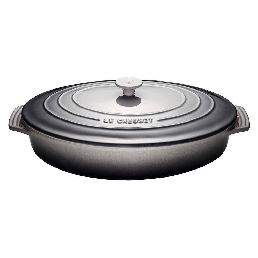 Le Creuset Oval Casserole with Lid 3.5L | Oyster