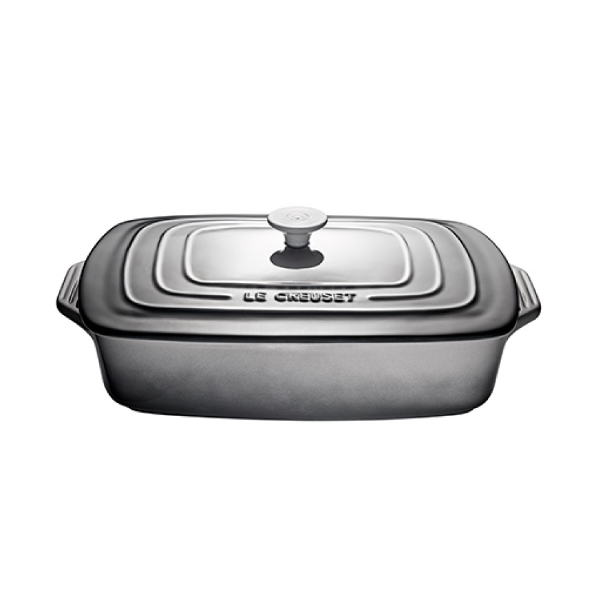 Le Creuset Rectangular Casserole with Lid 3.3L | Oyster