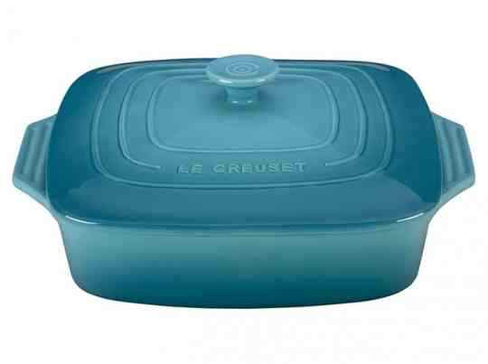 Le Creuset Covered Square Baker 24cm | 2.6L Caribbean