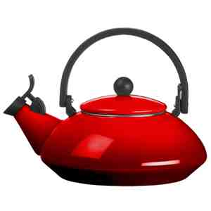 Le Creuset ZEN Tea Kettle - Cherry