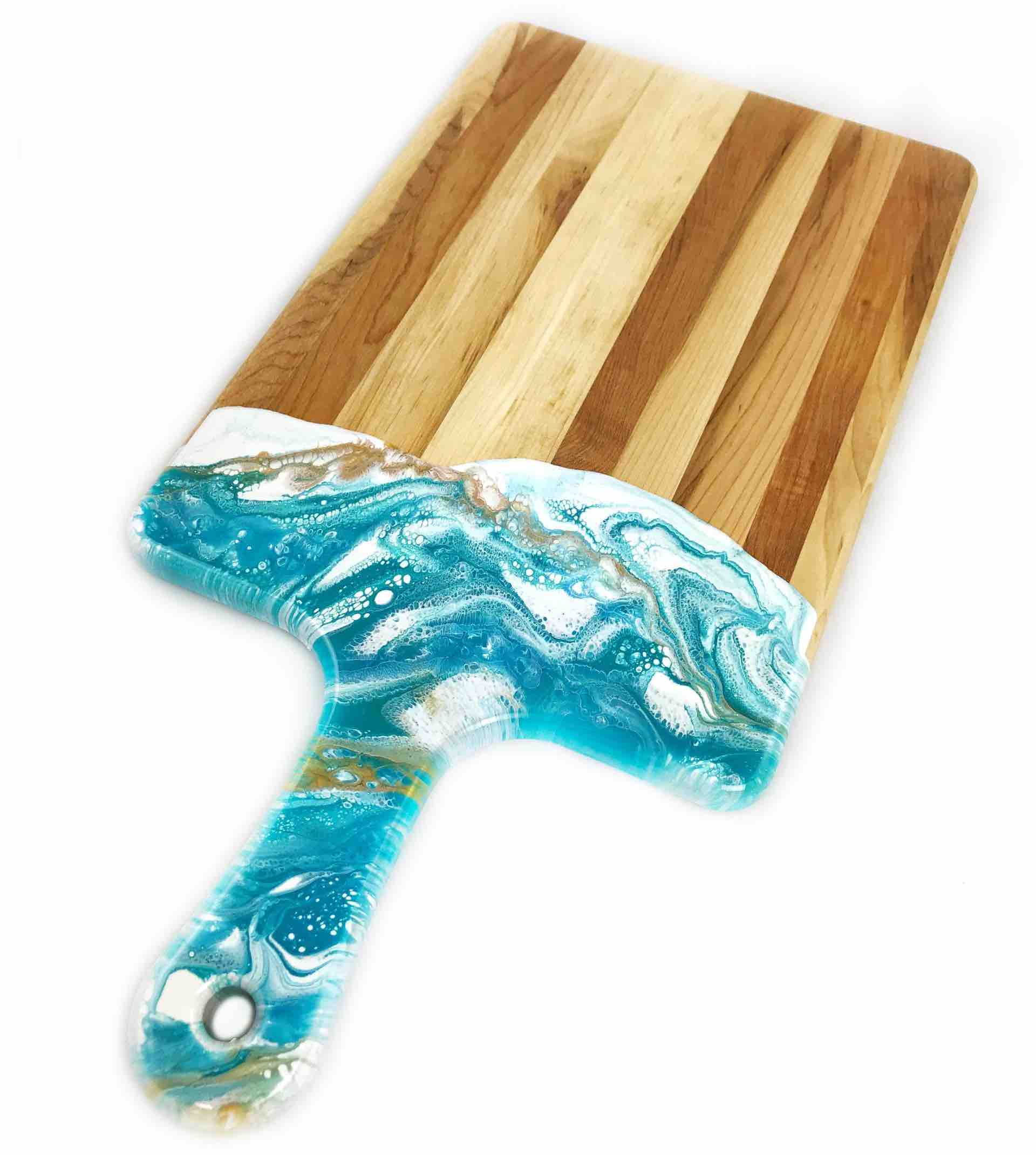 Lynn & Liana Cheeseboard with Dipped Handle | 10x20"