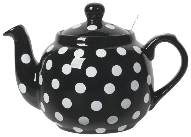 London Pottery Teapot | Black 4-Cup