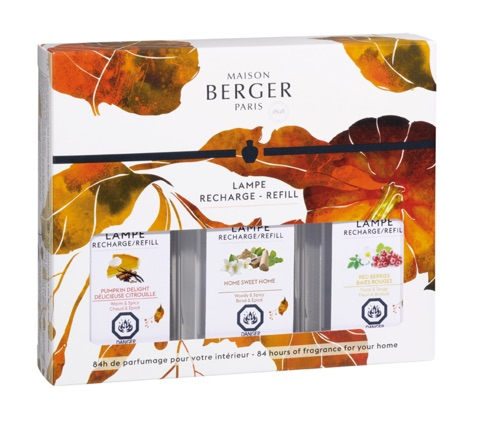 Maison Berger Fall Trio Pack | Lamp Refills