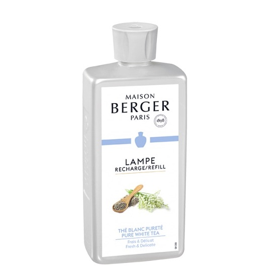 Maison Berger |  Lamp Refill 500ml | Pure White Tea