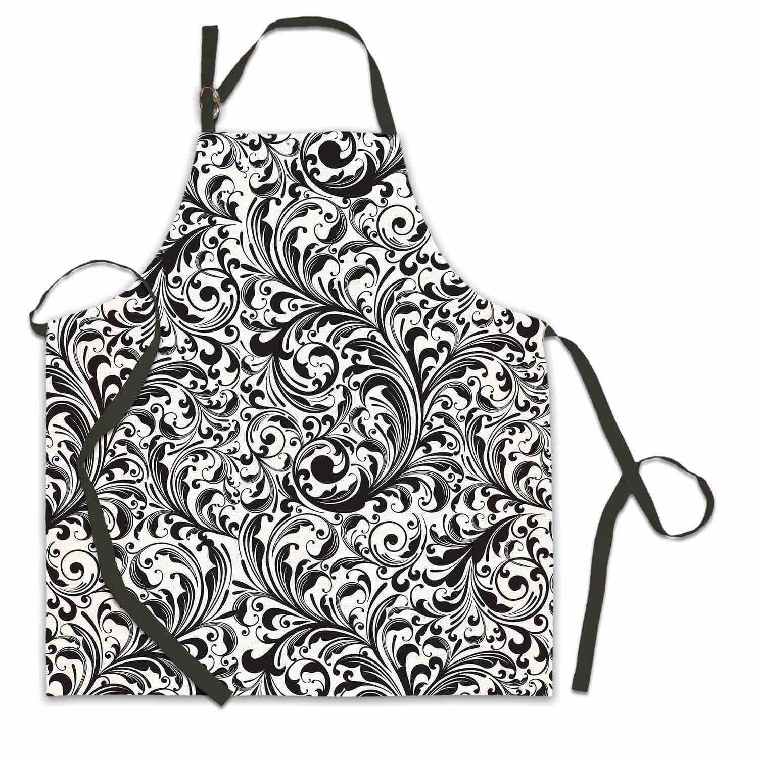 Michel Design Works Apron | Black Florentine