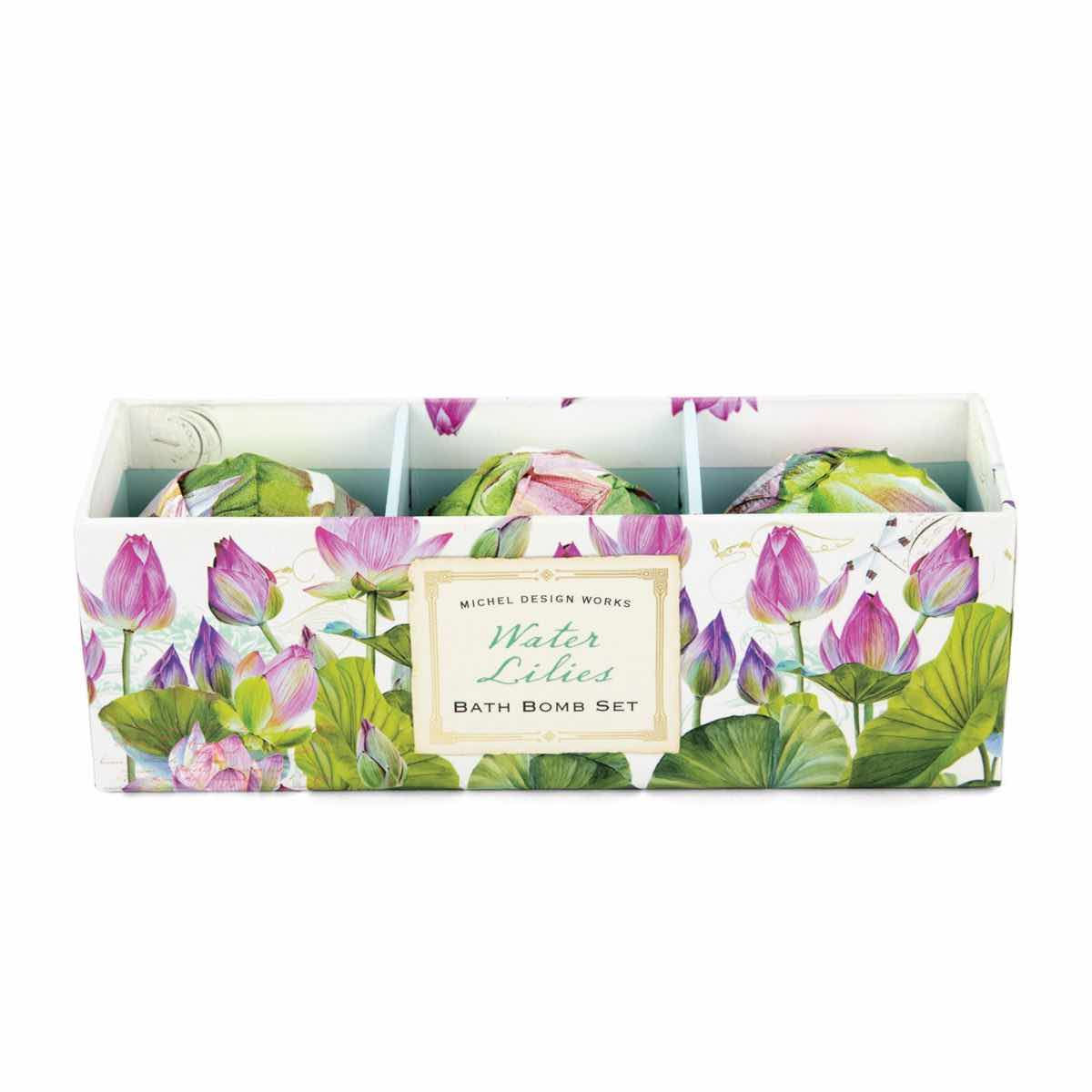 Michel Design Works Bath Bomb Set | Water Lilies