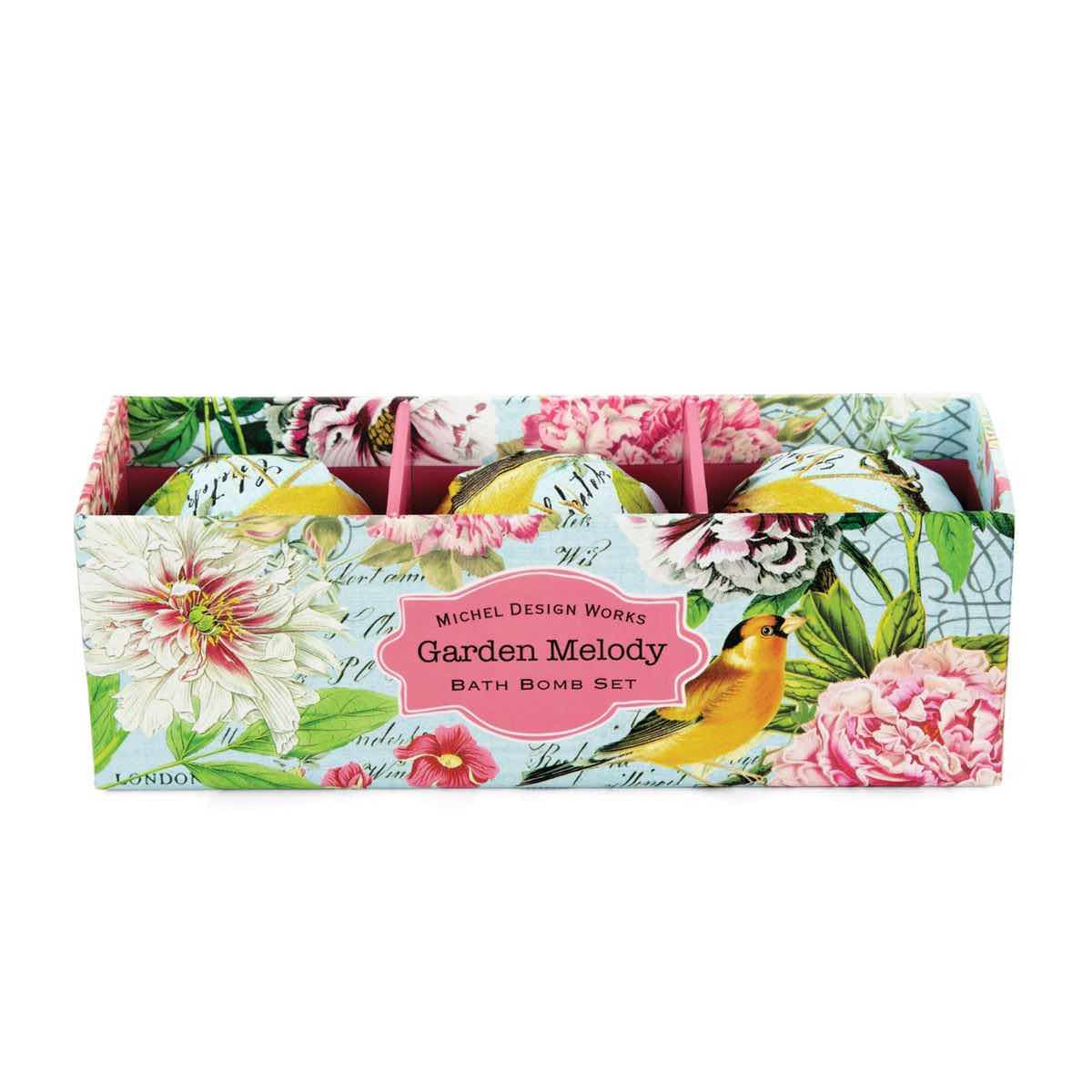 Michel Design Works Bath Bomb Set | Garden Melody