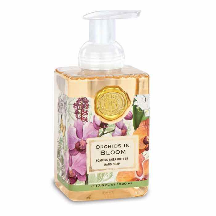 Michel Design Works Foaming Soap | Orchids in Bloom