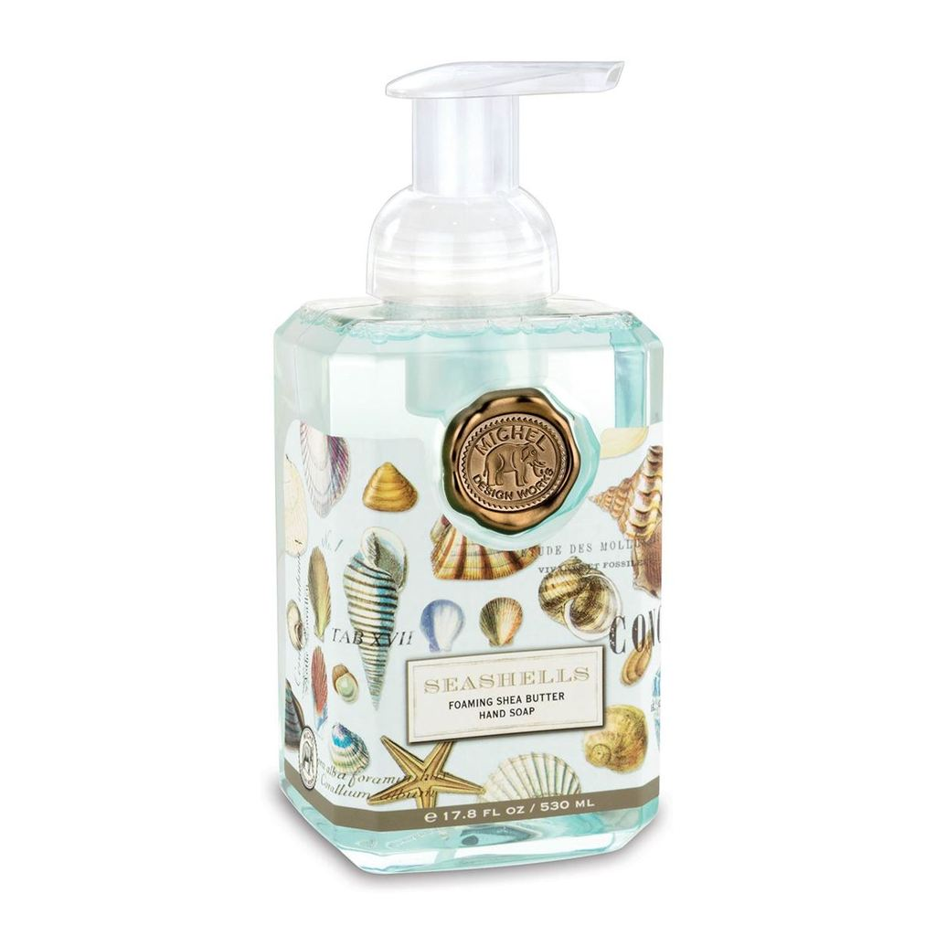 Michel Design Works Foaming Soap | Seashells
