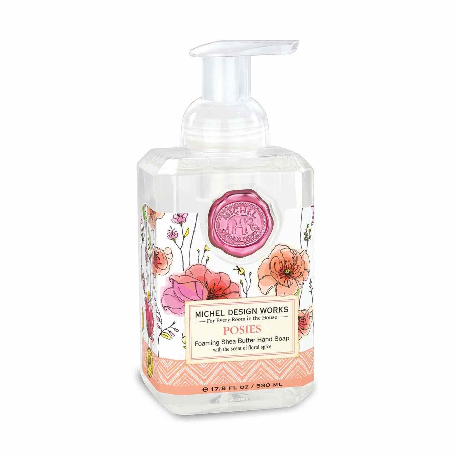 Michel Design Works Foaming Soap | Posies
