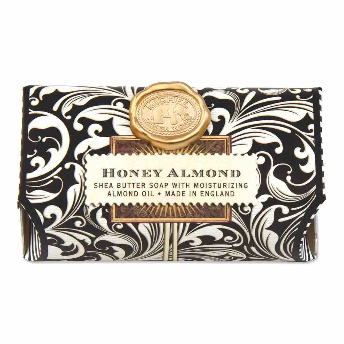 Michel Design Works Large Bath Soap Bar | Honey Almond