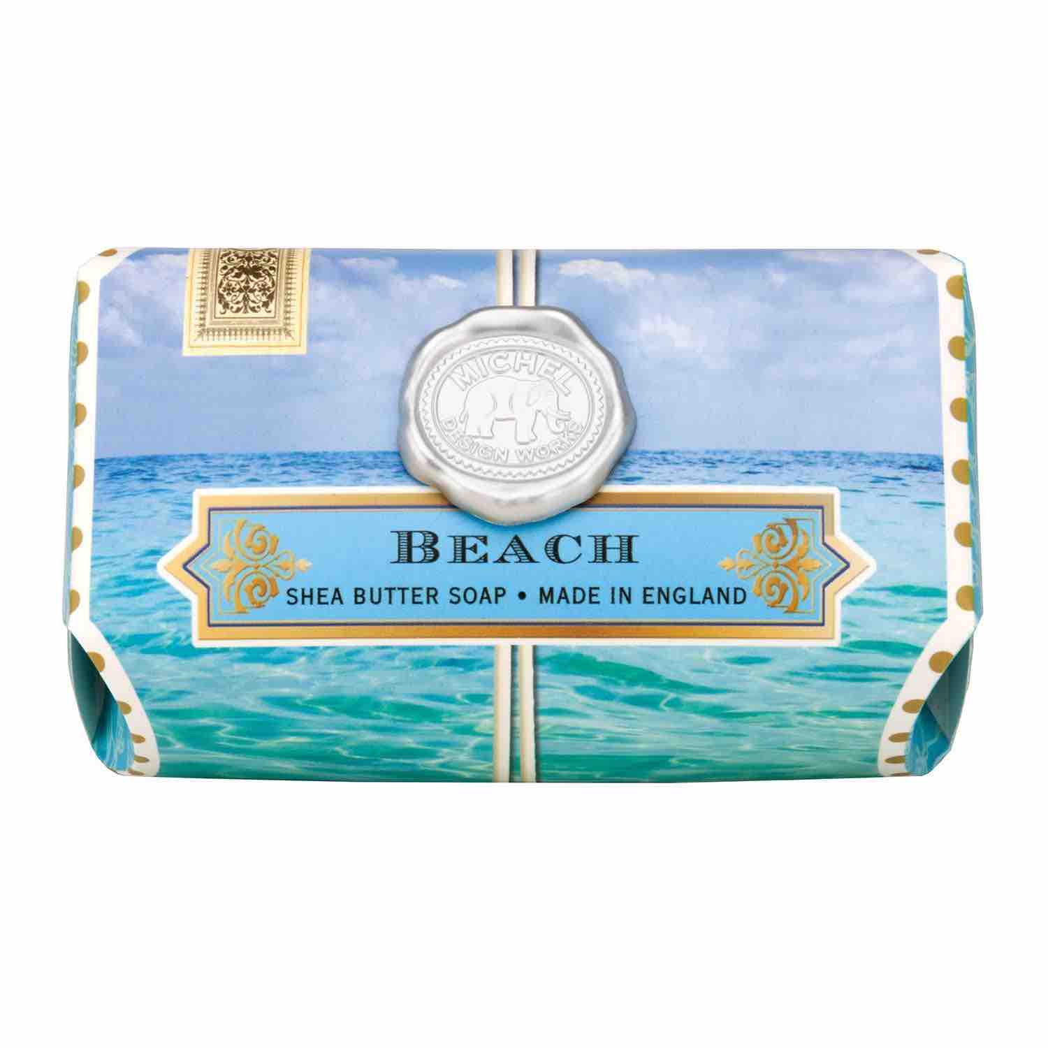 Michel Design Works Large Bath Soap Bar | Beach
