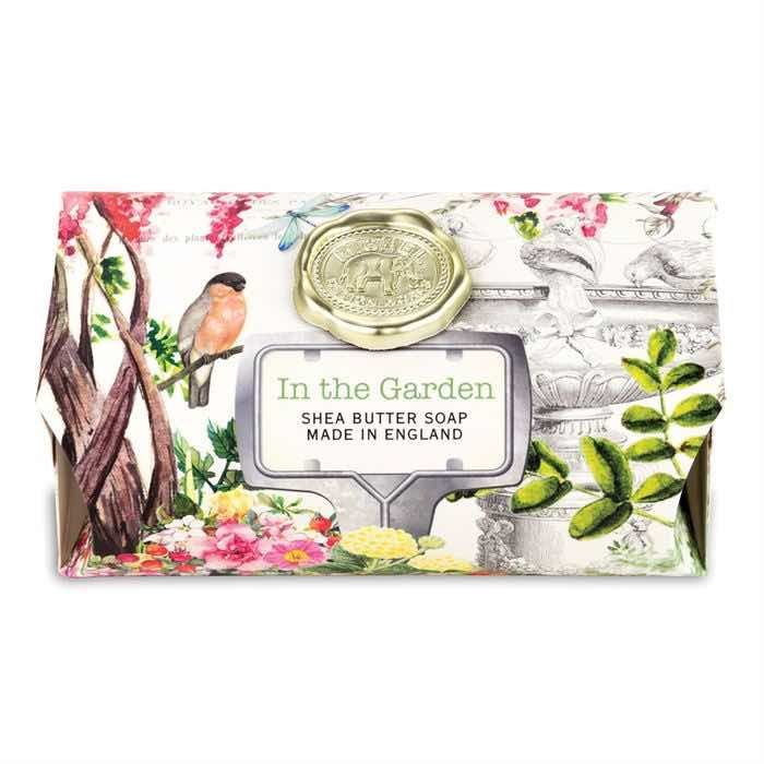 Michel Design Works Large Bath Soap Bar | In the Garden