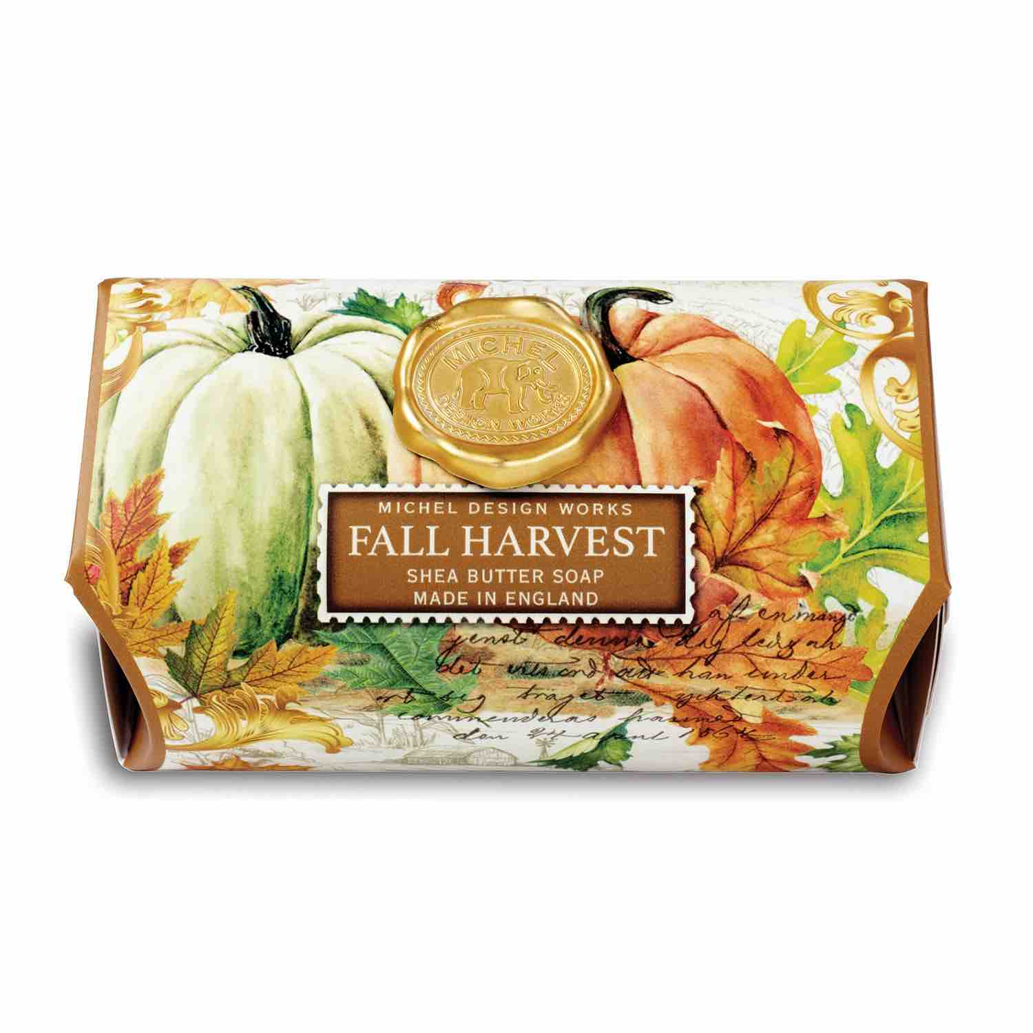 Michel Design Works Large Bath Soap Bar | Fall Harvest