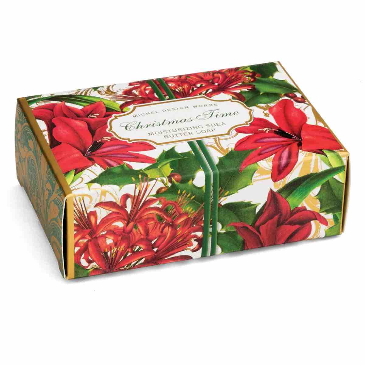 Michel Design Works Boxed Soap Bar | Christmas Time