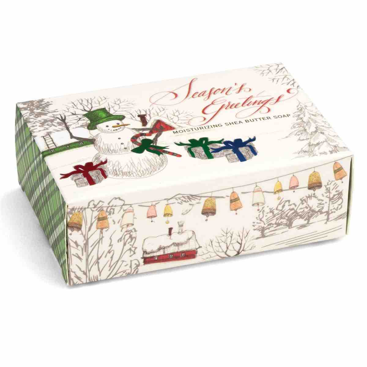 Michel Design Works Boxed Soap Bar | Season's Greetings