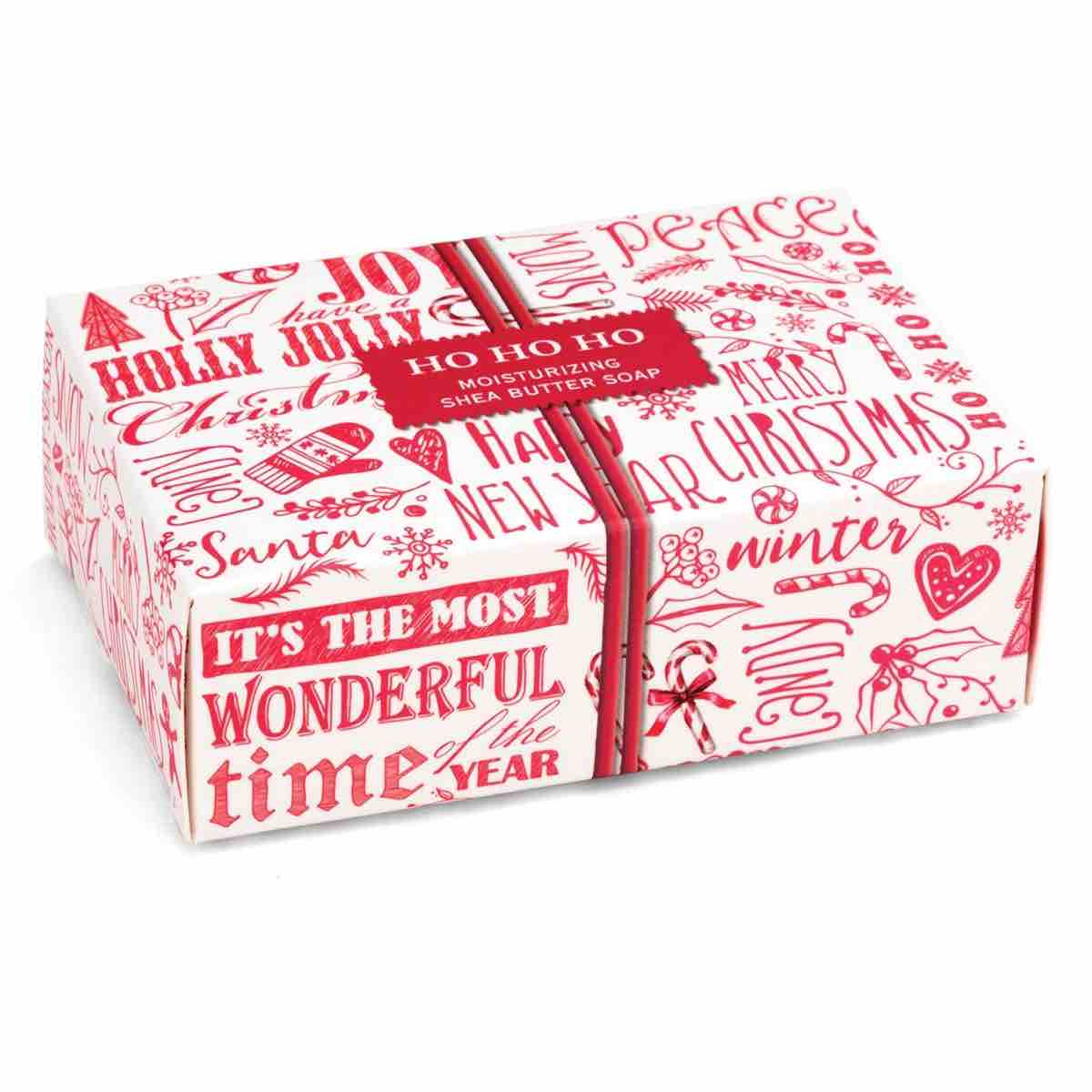 Michel Design Works Boxed Soap Bar | Ho Ho Ho
