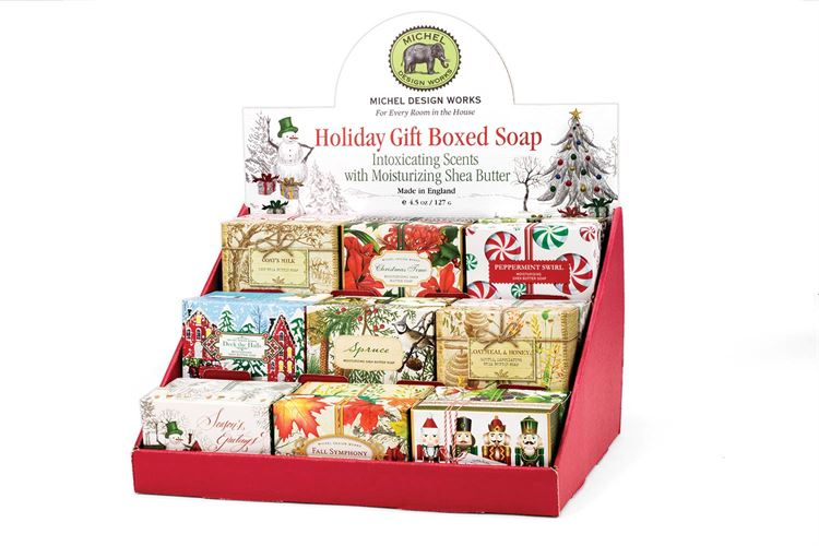 Michel Design Works Holiday Gift Boxed Soap Bar | Assorted