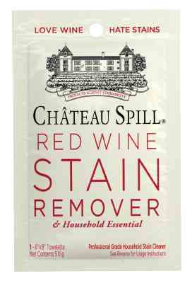 Chateau Spill - Red Wine Stain Remover Towelette