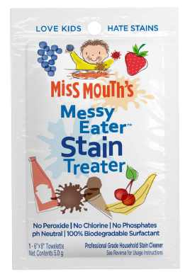 Miss Mouth's Messy-Eater Stain Treater Towelette