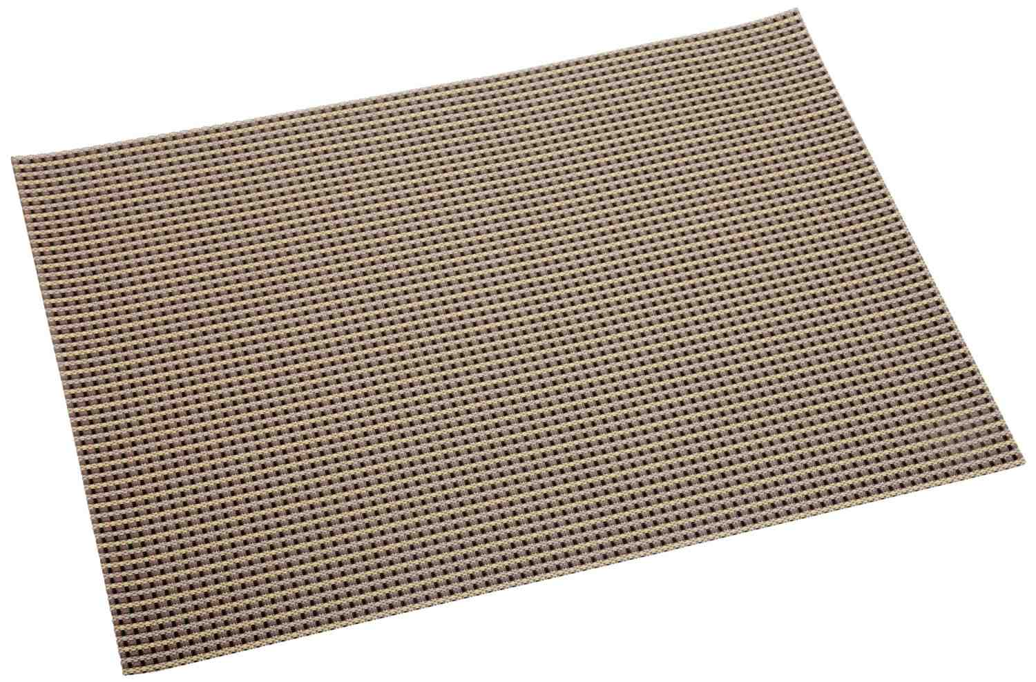 TATEhome Polyvinyl Placemat | Taupe Tweed