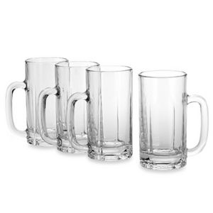 Mikasa Brewmaster Beer Mug Set of 4