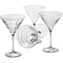 Cheers Martini Glasses - Set of 4