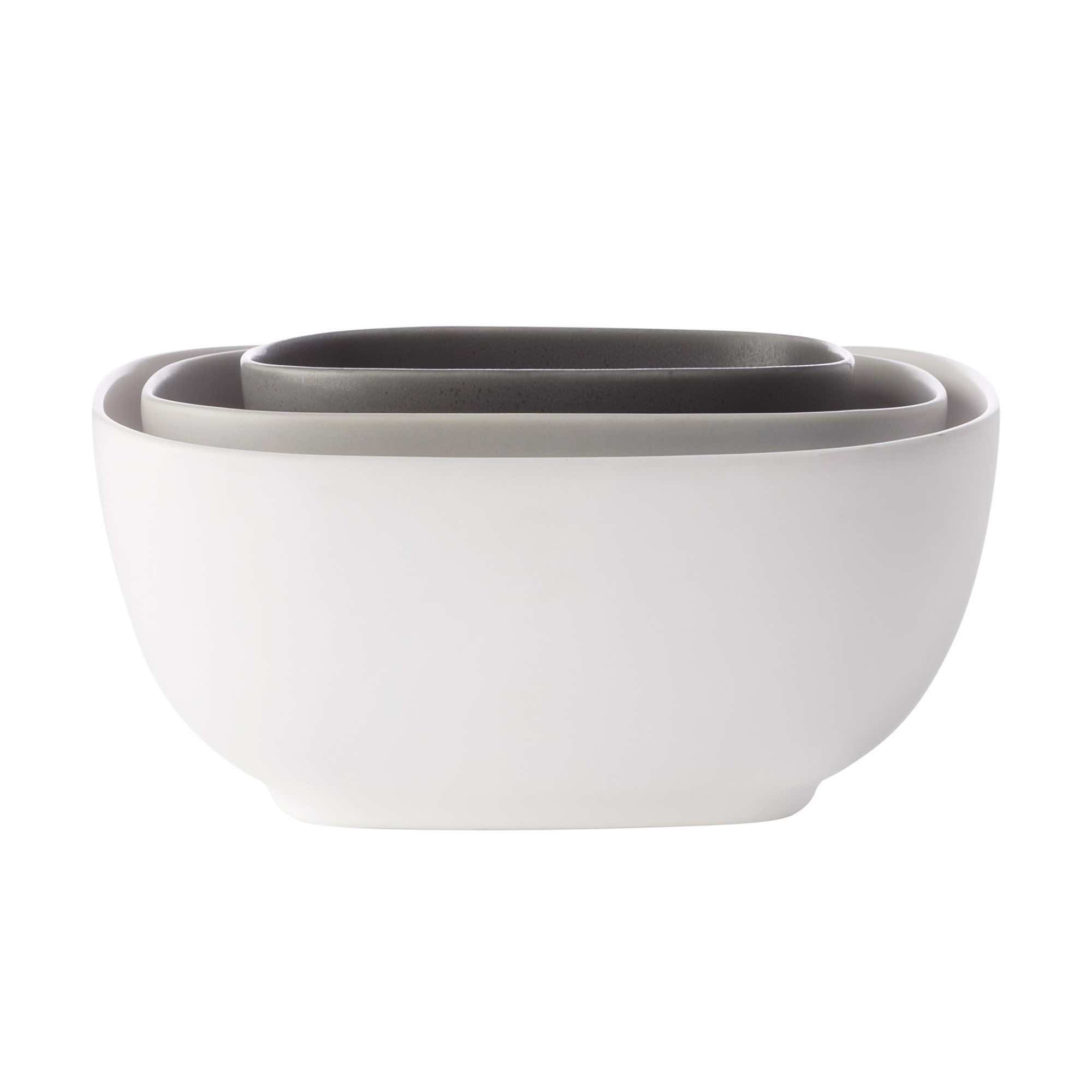 Maxwell & Williams Elemental Serving Bowls | Set of 3 Square