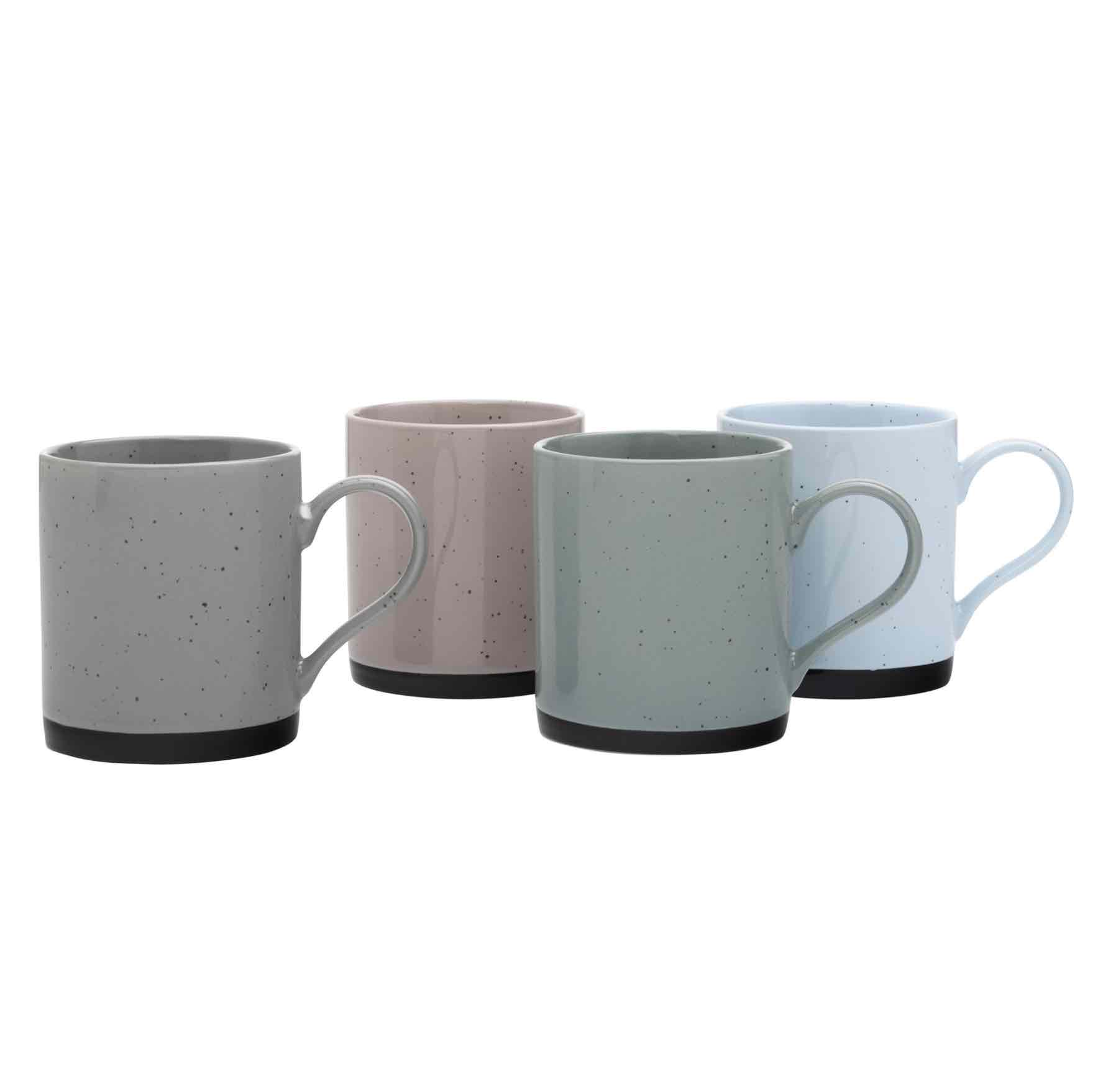 Maxwell & Williams Speckle Mug Set | Set of 4 Mugs