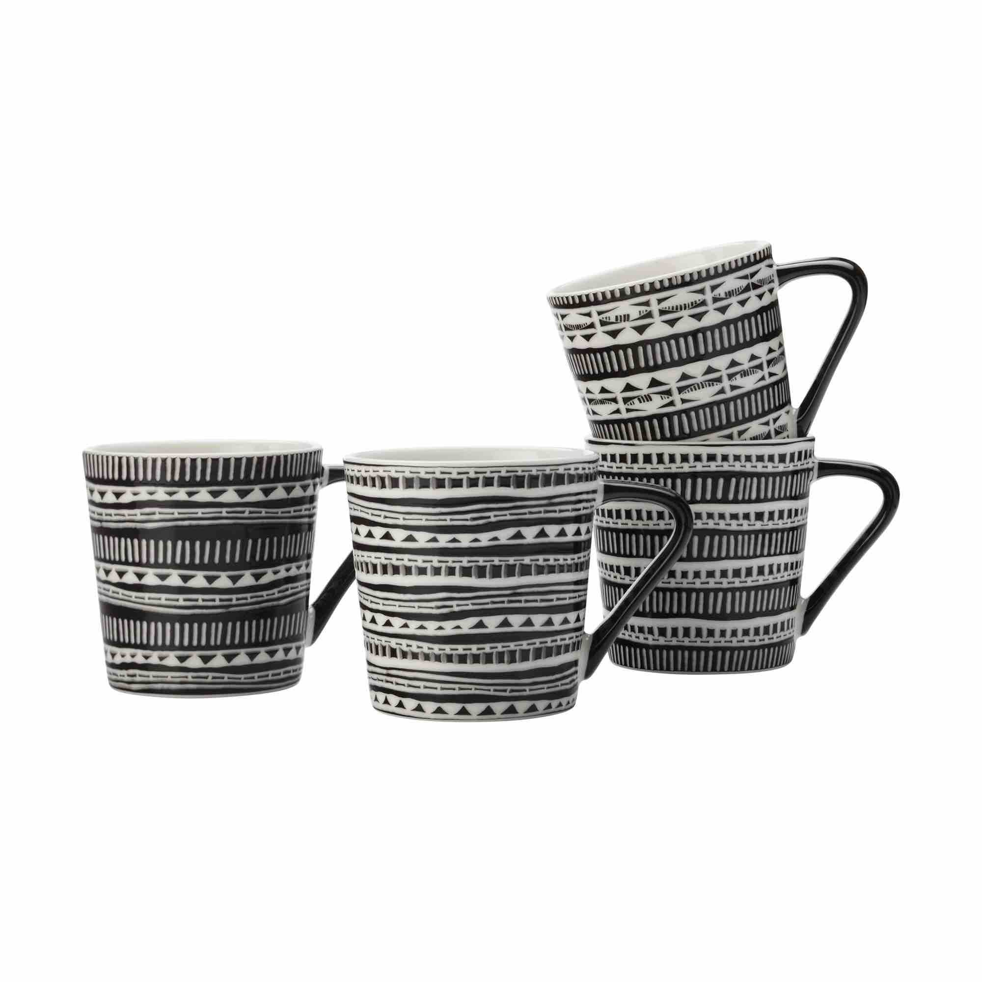 Maxwell & Williams Aztec Mugs | Set of 4