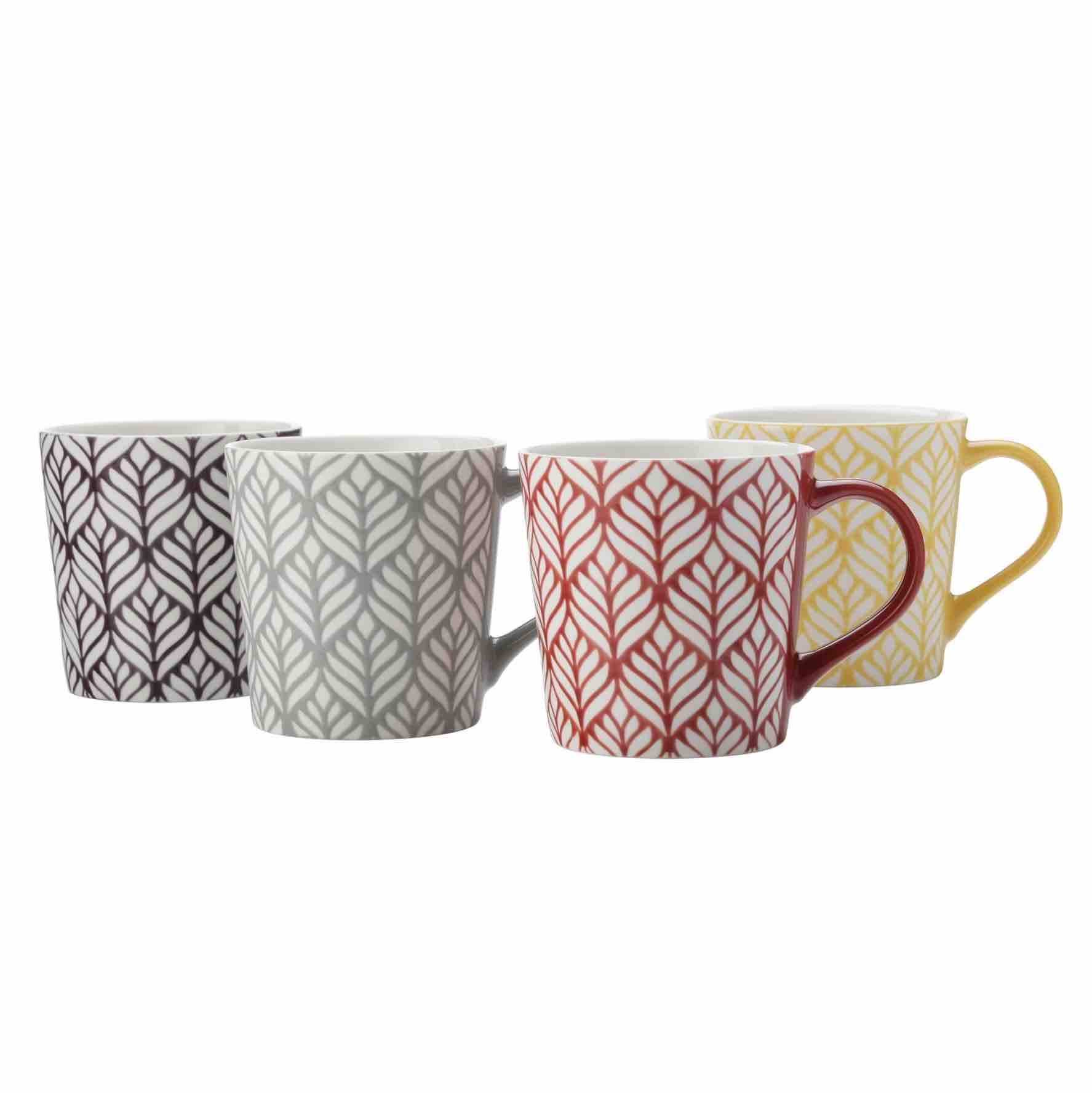 Maxwell & Williams Moro Mugs | Set of 4