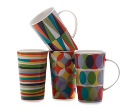 Maxwell & Williams Sequence Mugs | Set of 4
