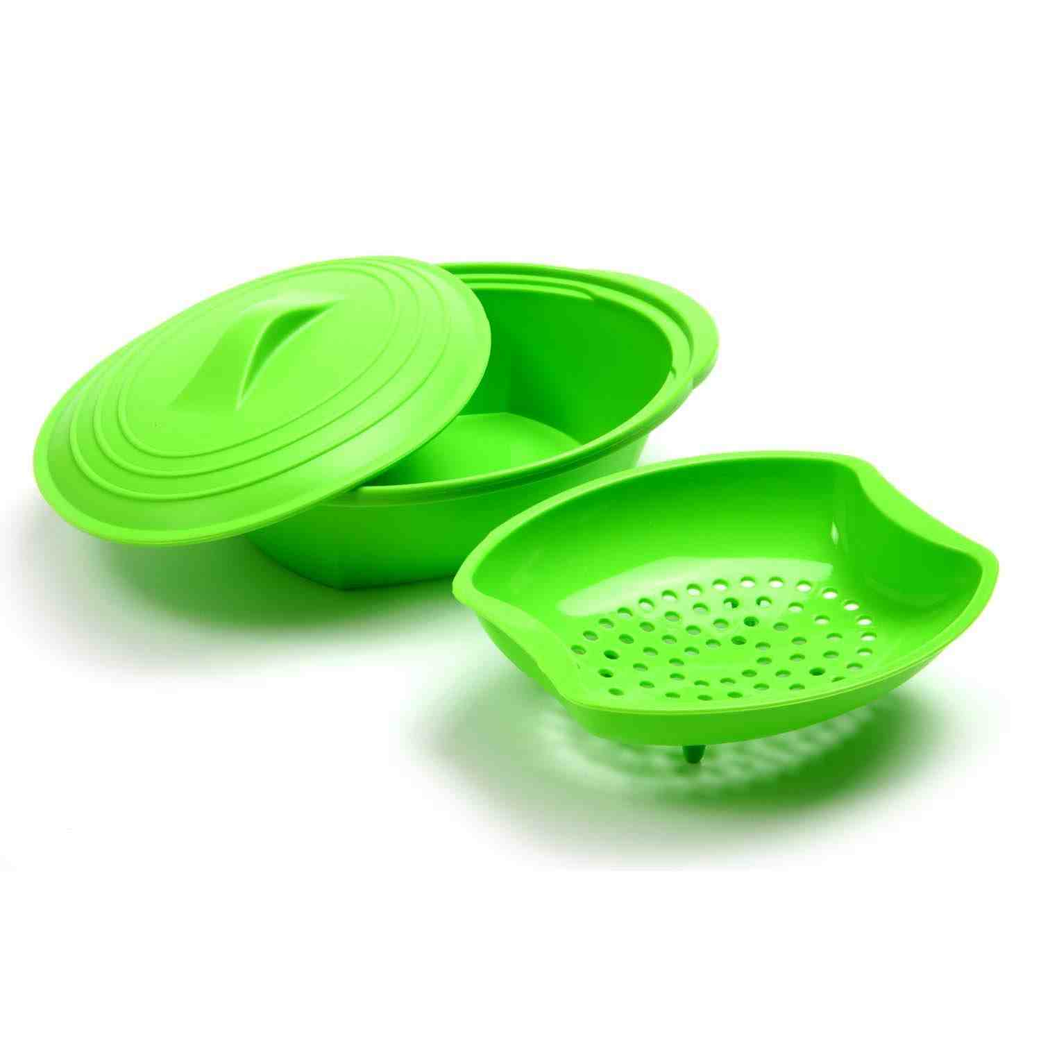 Silicone Steamer with Insert 32oz
