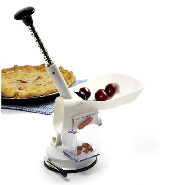 Deluxe Cherry Pitter with Suction Base
