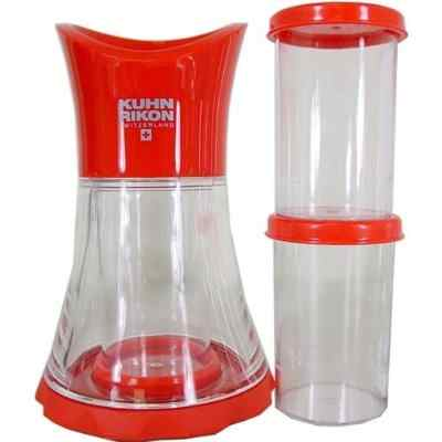 Kuhn Rikon Vase Spice Grinder with Inserts - Red