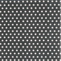 Cocktail Napkins - Just Dots Black 20pk