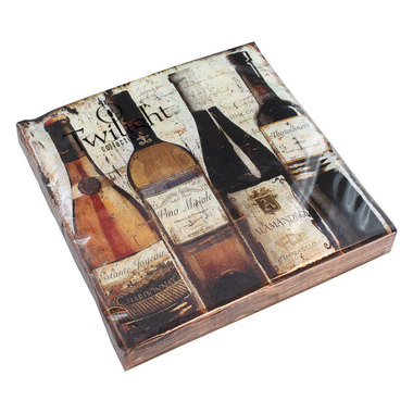 Luncheon Napkins | Degustation de Vin 20pk