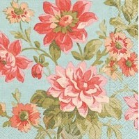 Luncheon Napkins | Painted Dahlias 20pk