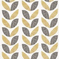 Cocktail Napkins | Graphic Leaves 20pk