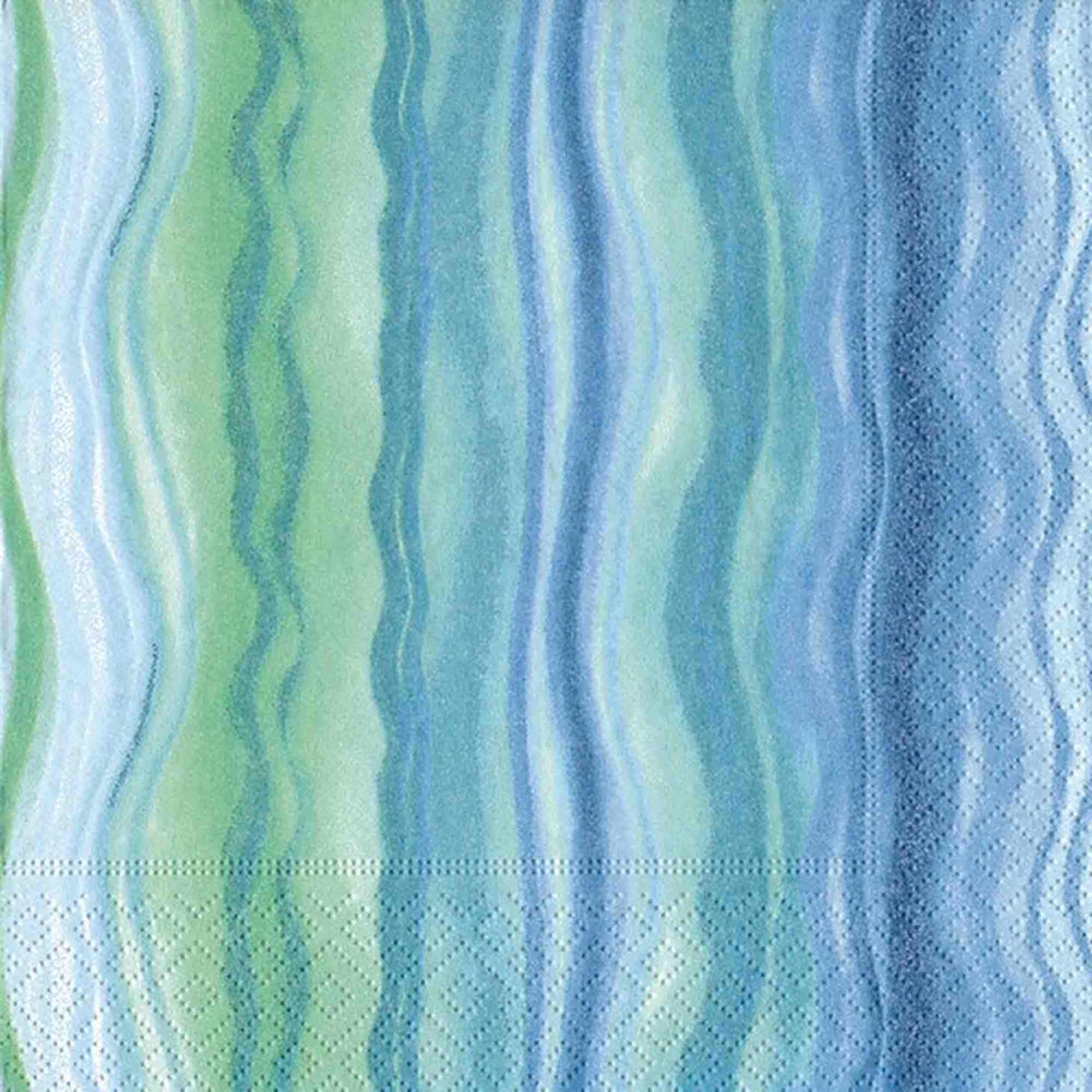 Cocktail Napkins | Blue Waves 20pk