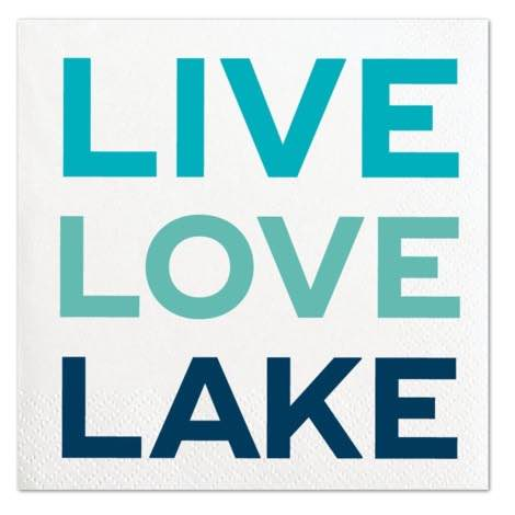 Cocktail Napkins | Live Love Lake 20pk