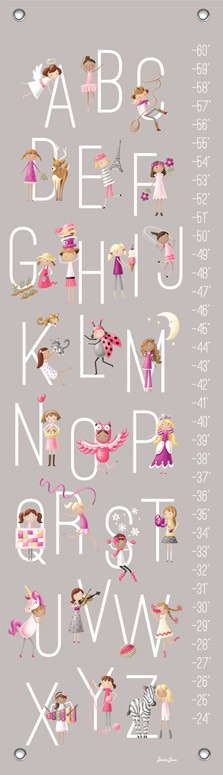 Growth Chart | G is for Girls by Sarah Lowe