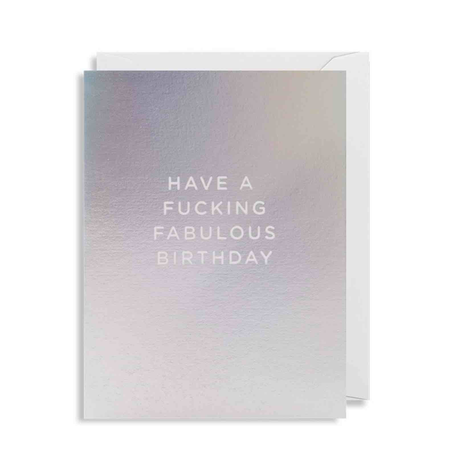 Mini Card | Fabulous Birthday