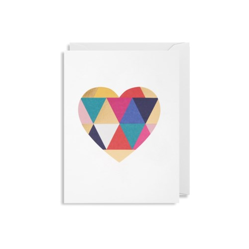 Mini Card | Geometric Heart