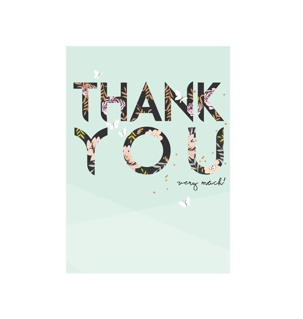 Thank You Card | Very Much