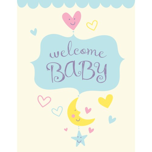 Baby Card - Welcome Baby