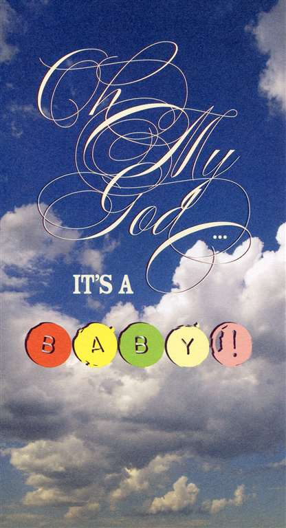 Baby Card - Oh My God